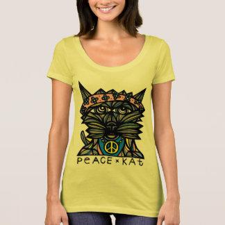 """T-shirt de niveau des femmes de la """"paix KAT"""" le"""