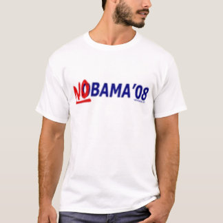 T-shirt de Nobama 08