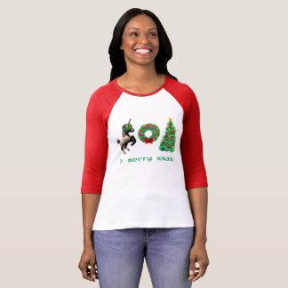 """T-shirt """"de Noël à 8 bits""""/habillement divers"""
