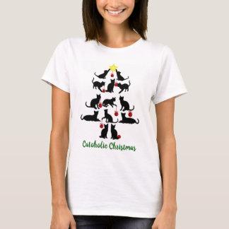 T-shirt de Noël de Catoholic
