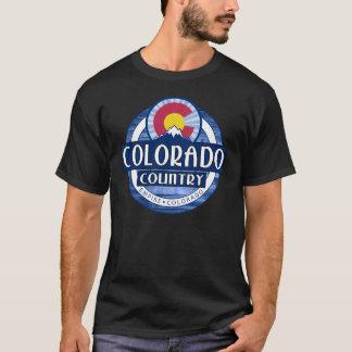 T-shirt de noir de pays du Colorado