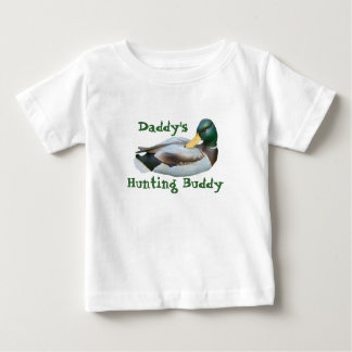T-shirt de nourrisson d'ami de la chasse du papa