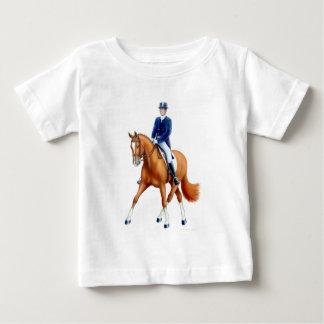 T-shirt de nourrisson de bébé de dressage
