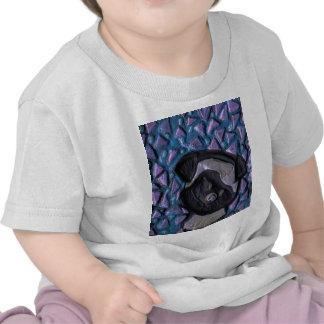 T-shirt de nourrisson de carlin de bébé