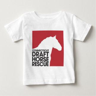 T-shirt de nourrisson de délivrance de cheval de