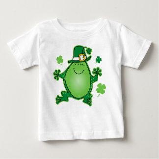 T-shirt de nourrisson de grenouille de lutin