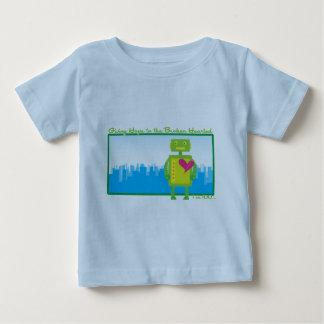 T-shirt de nourrisson de HeartBot