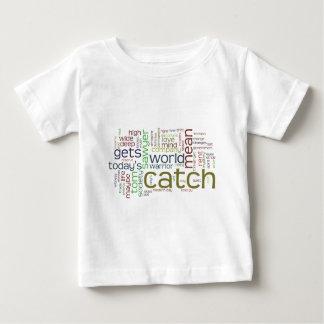 T-shirt de nourrisson de nuage de mot de Tom