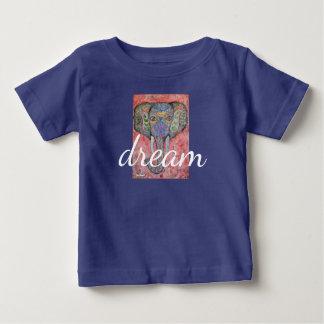T-shirt de nourrisson de rêve d'éléphant