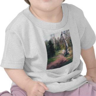 T-shirt de nourrisson d'itinéraire aménagé pour am
