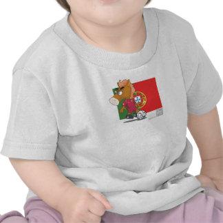 T-shirt de nourrisson du football du Portugal