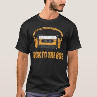 T-shirt de nouveau à la musique des années 80