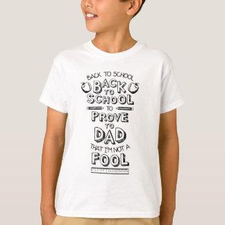 T-shirt De nouveau à l'école