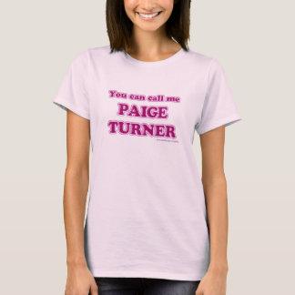 T-shirt de Paige Turner