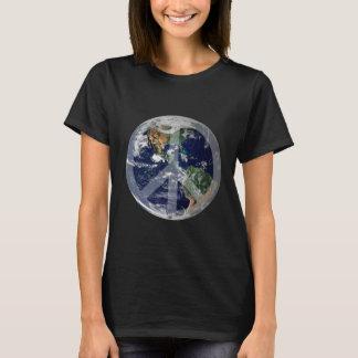 T-shirt de paix du monde