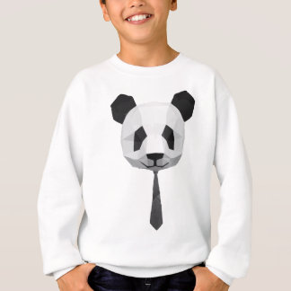 T-shirt de panda de bureau