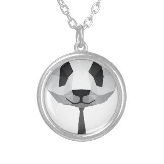 T-shirt de panda de bureau collier