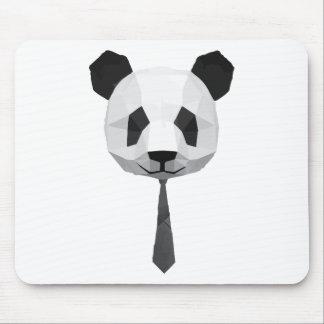 T-shirt de panda de bureau tapis de souris