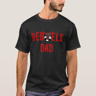 T-shirt de papa de rebelles