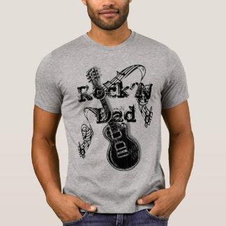 T-shirt de papa de Rock'N - cadeau pour le papa