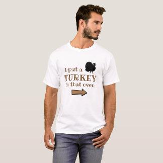 T-shirt de papa de thanksgiving