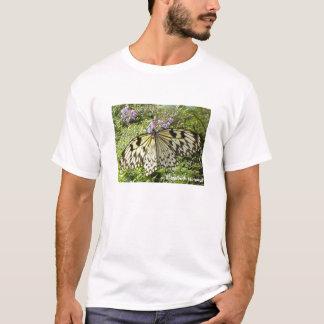 T-shirt de papillon de papier de riz