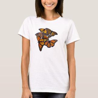 T-shirt de papillons de monarque
