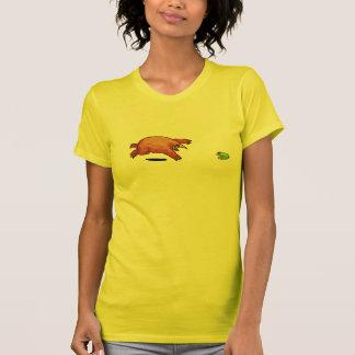 T-shirt de Papo et de Yo - monstre et grenouille
