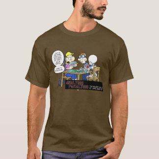 T-shirt de paralysie d'analyse