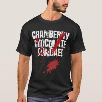 T-shirt de parfait de chocolat de canneberge de