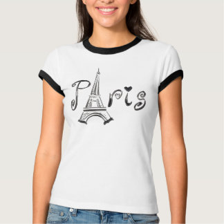 T-shirt de PARIS avec Tour Eiffel