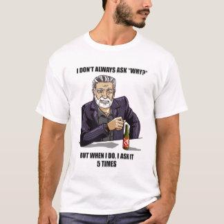 T-shirt de parodie de 5 pourquoi
