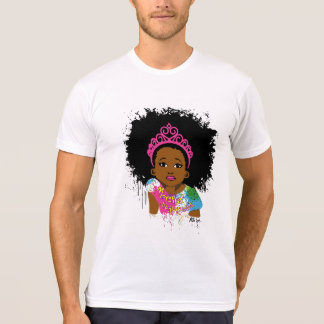 T-shirt de parrainage de princesse AZ de moka