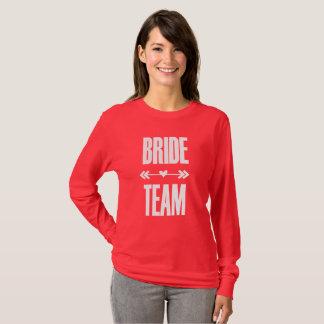 T-shirt de partie de Bachelorette d'équipe de