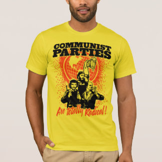 T-shirt de partis communistes
