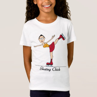 T-shirt de patinage de poussin