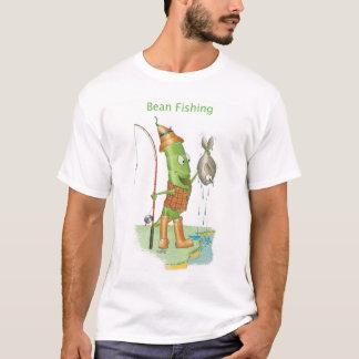 T-shirt de pêche d'haricot