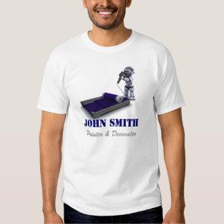 T-shirt de peintre et de décorateur