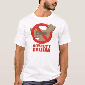 T-shirt de Pékin de boycott