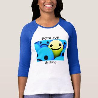 T-shirt de pensée positif