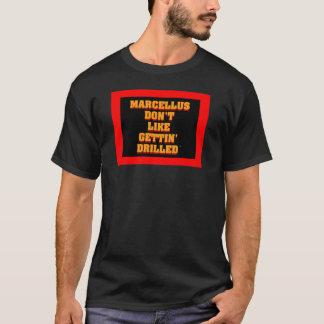 T-shirt de perçage de schiste d'Anti-Marcellus