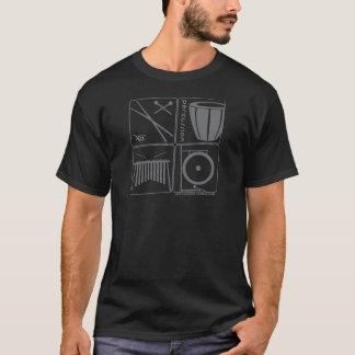 T-shirt de percussion de NEC (mâle)