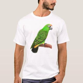 T-shirt de perroquet de Jardines