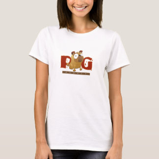 T-shirt de personne de carlin
