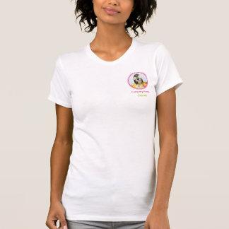 T-shirt de personnel de toilettage de chien