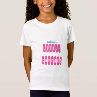 T-shirt de petit gâteau de la petite fille de Mimi