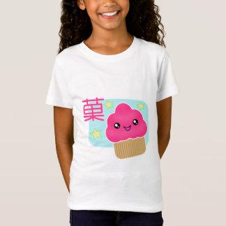 T-shirt de petit gâteau de sucrerie de Kawaii