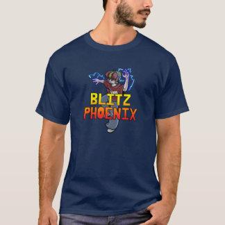 T-shirt de Phoenix Terry d'attaque éclaire