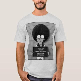T-shirt de photo de détenu de JIM Carty de