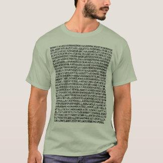 T-shirt de pianistes de jazz